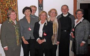 Das bewährte Vorstandsteam der kfd Wevelinghoven.