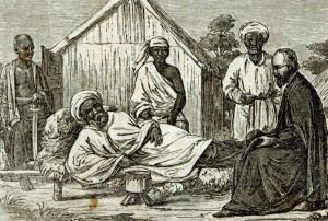 Missionar bei einem afrikanischen Herrscher: Die Ausstellung in Knechtsteden hat viele Facetten.