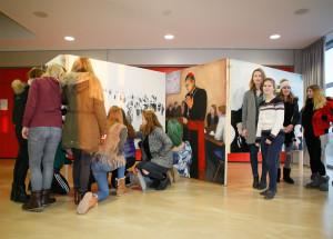 Gymnasium Marienberg: Kunstausstellung zur Integration der neuen Nachbarn