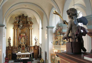 Auch St. Pankratius in Nievenheim ist länger geöffnet. Foto: TZ