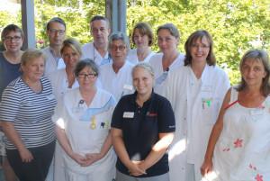 Das Team der Palliativmedizin: