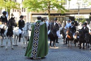 Pferdesegnung in St. Quirin