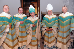 Neusser Quirinus Greiwe im Stift Herzogenburg zum Priester geweiht