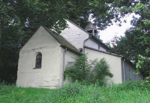An der Ramrather Lambertus-Kapelle beginnt eine Bittprozession. Foto: TZ