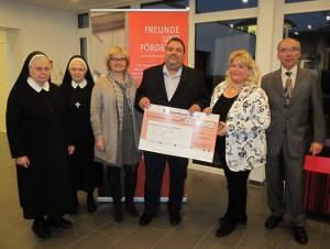 Neusser Prinzenpaar spendete 2.222,22 Euro an das Augustinus-Hospiz
