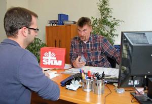 Uwe Simons leitet die Schuldnerberatung des SKM. Foto: TZ