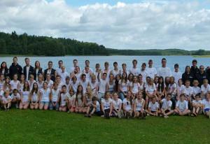 Das Jugendferienwerk bot ein schönes Ferienlager an der Mecklenburgischen Seenplatte.