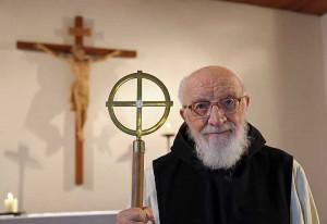 Pater Theobald Stibitz in der Langwadener Klosterkapelle. Foto: TZ