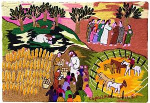 Das Titelbild des Weltgebetstags aus Chile.