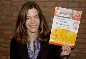 Stephanie Müller freut sich auf den WJT. Foto: TZ