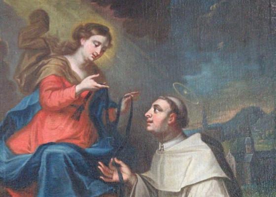 Jetzt in St. Peter und Paul zu sehen: der heilige Stephan Harding mit der Muttergottes. Foto: TZ