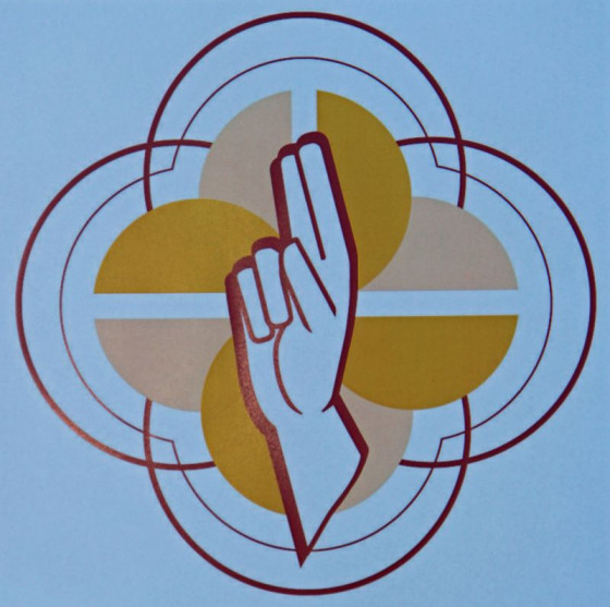 Anlehnung an die Gustorfer Chorschranken: das neue Logo der Kirche in Grevenbroich und Rommerskirchen. Foto: TZ