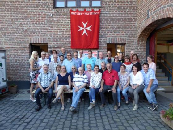 Das Malteser-Treffen in Zons wurde von der Bürgerstiftung Dormagen unterstützt.