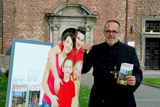 Herz für Familien: Pater Felix Rehbock wird das Nikolauskloster verlassen. Foto: TZ