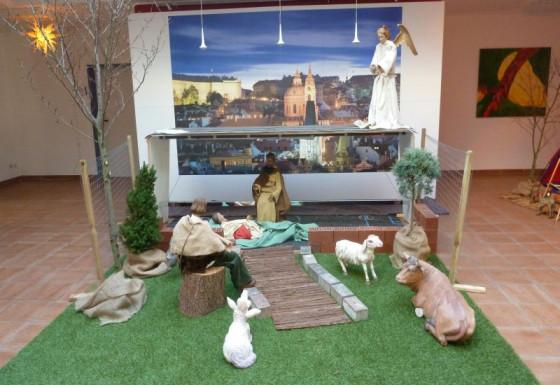 So sieht die Caritas-Krippe in Grevenbroich aus.