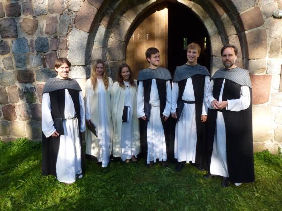 Die Gregorianik-Experten von Heinavanker gastieren in der Knechtstedener Basilika.