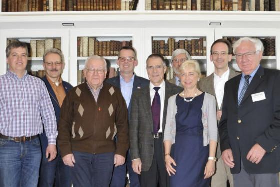 Voller Tatendrang: der neue Vorstand des Fördervereins für das Missionshaus Knechtsteden.