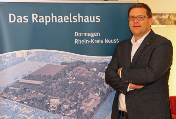Marco Gillrath ist neuer Direktor des Raphaelshauses in Dormagen. Foto: TZ
