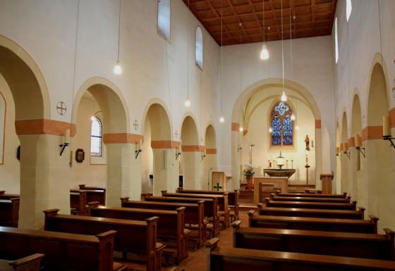 Ziel der Gohr-Pilger: die romanische Pfarrkirche St. Odilia. Foto: TZ