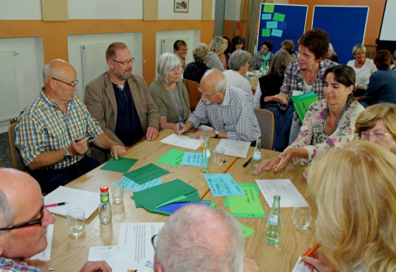 In Elsen wurden jetzt Ideen für das Kulturprojekt