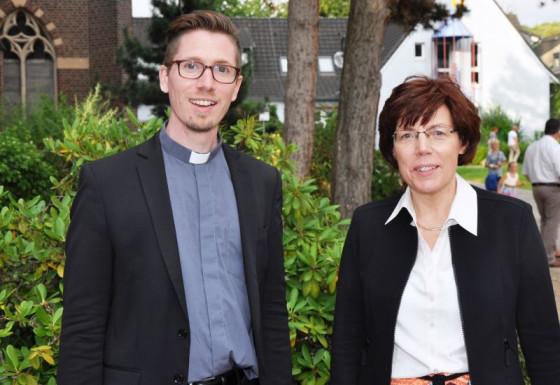 Michael Eichinger und Inge Metzemacher wirken jetzt in Leichlingen und Witzhelden.