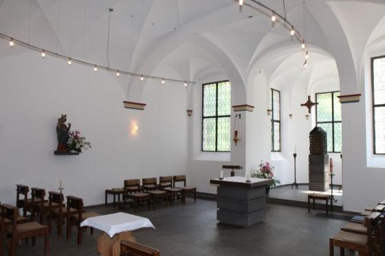 Dank der Hilfe des Fördervereins konnte die Sakramentskapelle in Knechtsteden renoviert werden. Foto: TZ