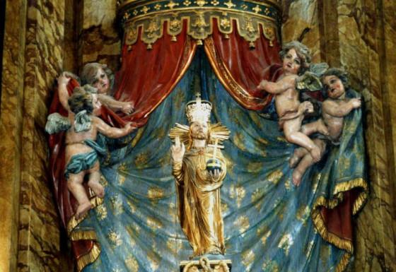 Das Gnadenbild des Salvators steht im Mittelpunkt der Nievenheimer Wallfahrt. Foto: TZ