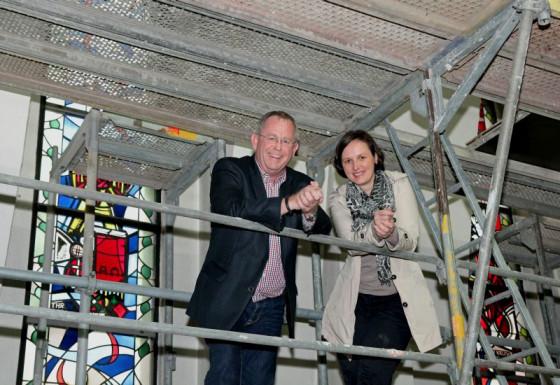 Johannes Trienekens und Angelika Teske-Naumann. Foto: TZ