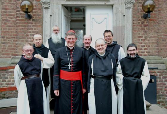 """Kardinal Woelki eröffnete bei den Zisterziensern das """"Jahr der Orden"""". Foto: TZ"""
