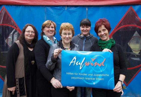 Aufwind (von links): Gabriele Demming, Micheline Müller, Ingeborg Glauer, Kirsten Ehrkamp und Bärbel Rosengart.