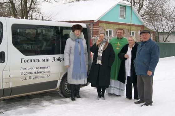 """Spendenaktion erfolgreich: """"Hilfe für die Ukraine – Ein Bus für Pfarrer Wilk"""""""