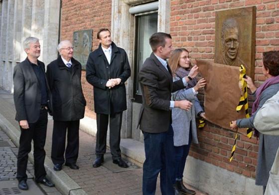 Gedenktafel für Franz-Josef Schmitt enthüllt