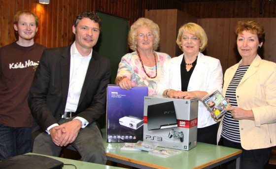 Jugendtreff Reuschenberg bekommt neue Geräte
