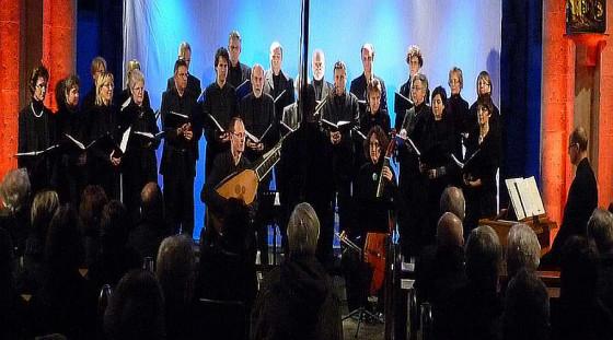 Der Kammerchor gestaltet den musikalischen Advent in Knechtsteden.