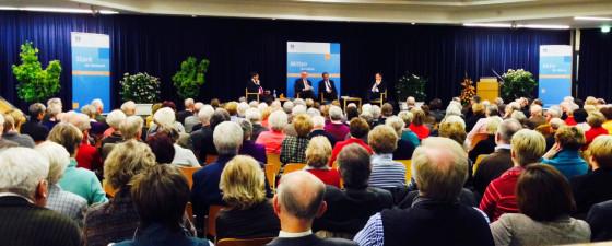 KKV diskutierte: Wie viel Kirche verträgt der Staat?