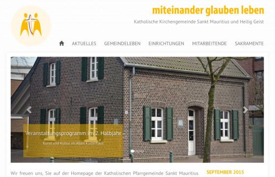 Meerbusch: Neu gestaltetete Internetseite