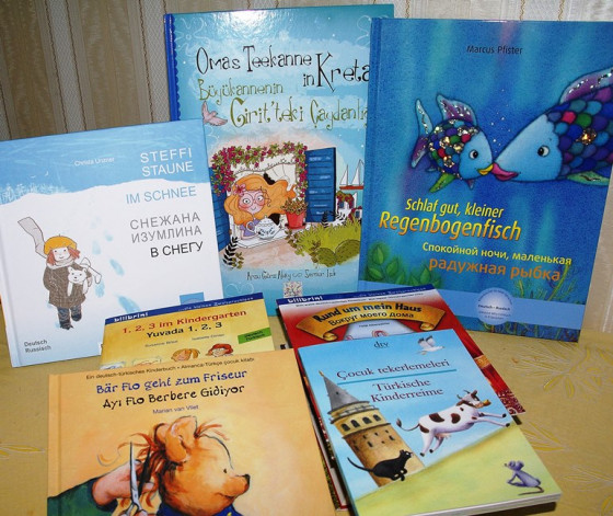 Kirchliche Büchereien bieten mehrsprachige Kinderbücher an