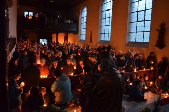 Besondere Atmosphäre: Gottesdienste in der Kapelle des Nikolausklosters.