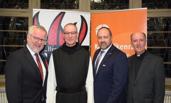 Neujahrsempfang des Katholikenrates: Kirche muss den Menschen zugewandt sein