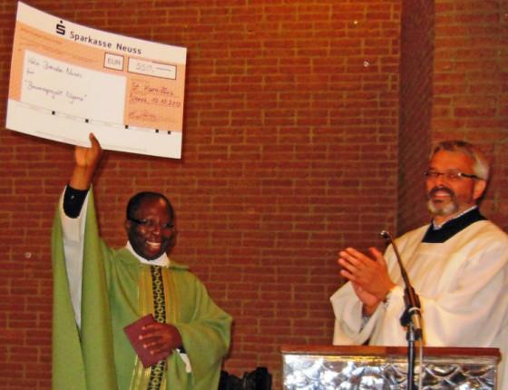 St. Kamillus unterstützt Brunnenprojekt von Father Brendon