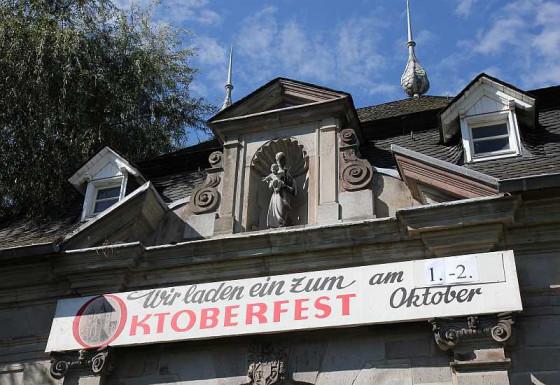 Das Kloster Knechtsteden steht im Zeichen des Oktoberfestes. Foto: TZ