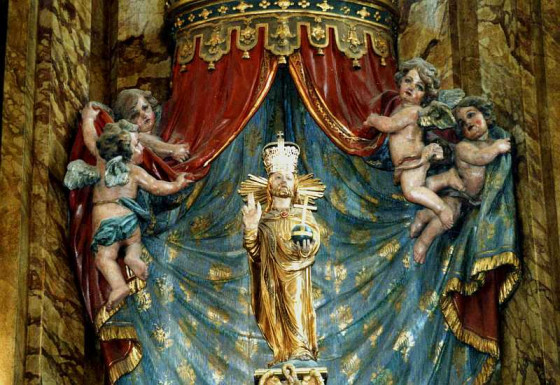 Ziel der Pilger: das Gnadenbild des Salvators. Foto: TZ