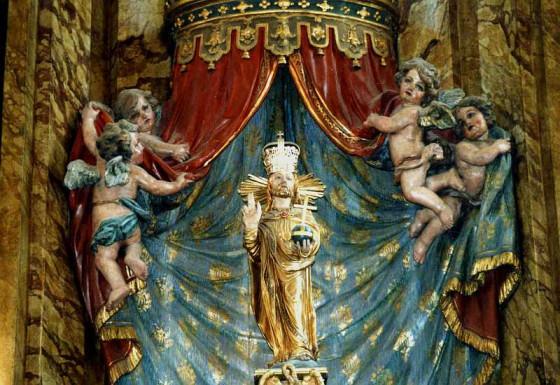 Das Gnadenbild des Salvators (Erlösers) in St. Pankratius ist das Ziel der Nievenheim-Pilger. Foto: TZ