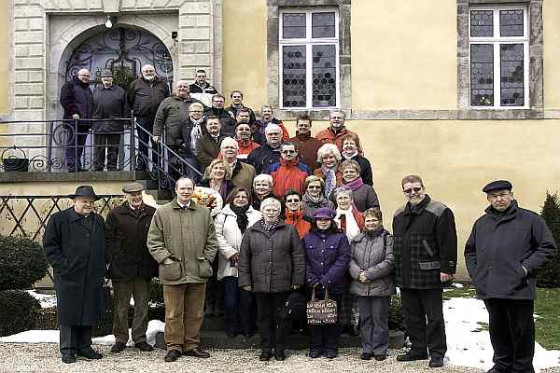 Der Diözesan-Vorstand des Bundes der Historischen Deutschen Schützenbruderschaften traf sich auf Burg Adendorf.