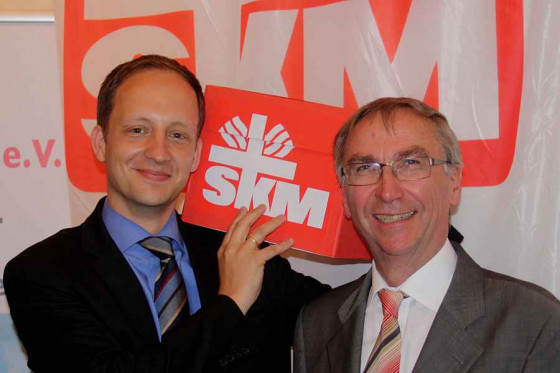Klaus Karl Kaster (rechts) und Philip Benning. Foto: TZ