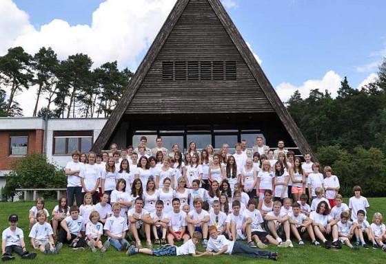 Gut gelaunt im Steigerwald: das Sola-Team 2011.