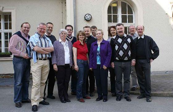 Der Vorstand des Kreiskatholikenrats bei der Klausurtagung.