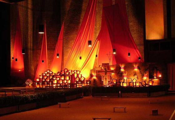 Die Kirche in Taizé ist eine Quelle der Versöhnung.
